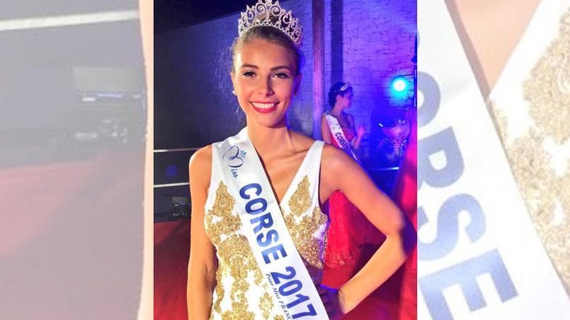 Eva Colas, Miss Corse 2017 pour Miss France