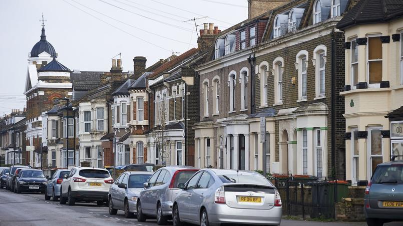 Les prix immobiliers ne flambent plus trop à Londres (ici un quartier résidentiel de l'est de la ville)