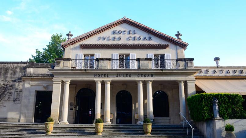 L'hôtel Jules César, à Arles, l'une des belles acquisitions de Maranatha.