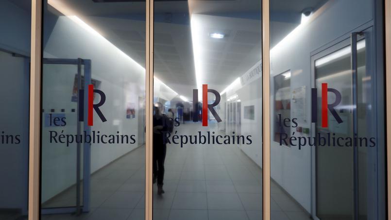 Le siège des Républicains, rue Vaugirard (XVe arrondissement de Paris).