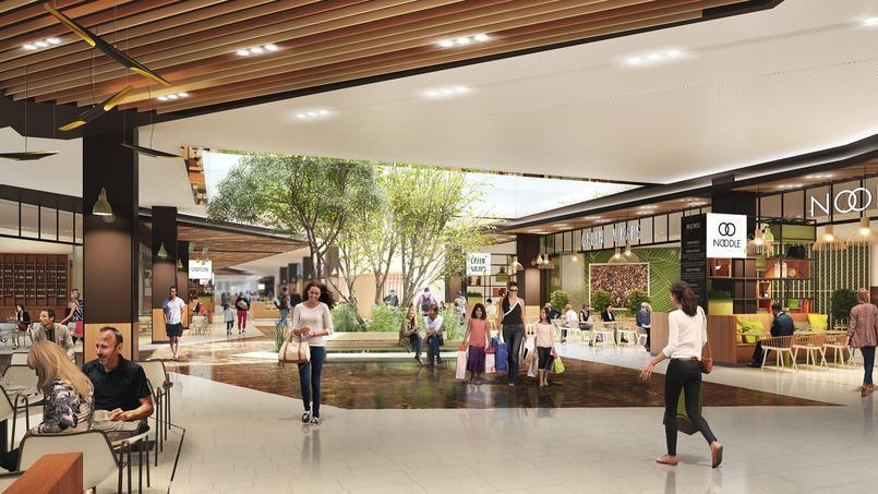 Au centre commercial du Carré Sénart (Seine-et-Marne), un espace entièrement dédié uax enseignes de restaurants.
