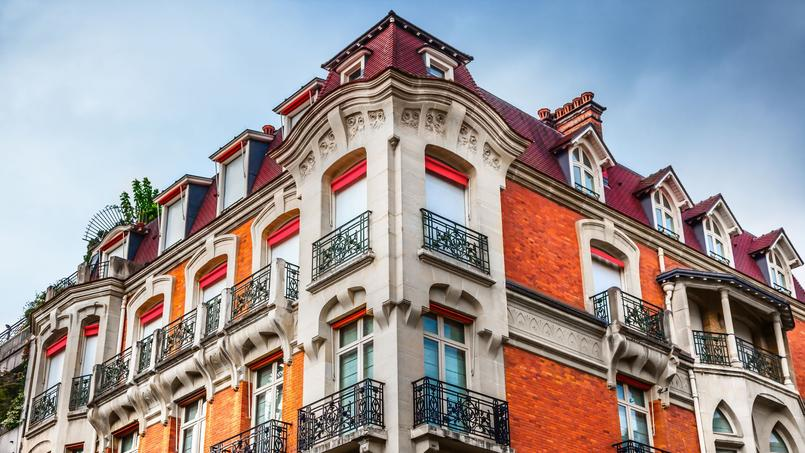 Immeuble parisien.