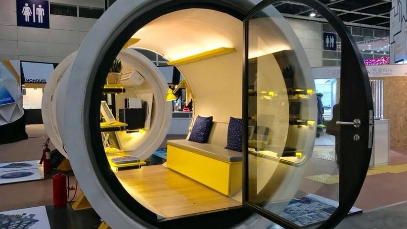 hong kong des petits appartements construits dans des tuyaux. Black Bedroom Furniture Sets. Home Design Ideas