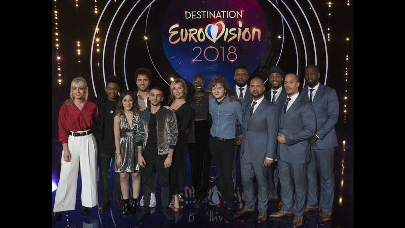 Les candidats du premier prime de Destination Eurovision.