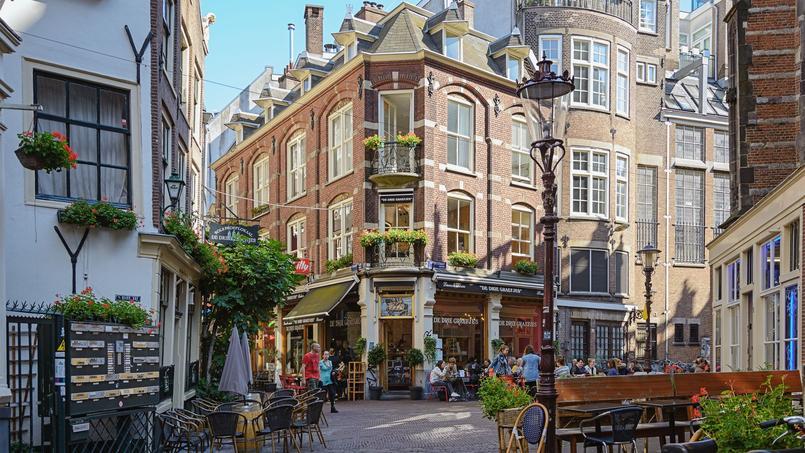 Le centre ville d'Amsterdam.
