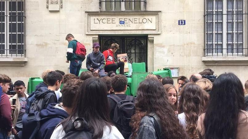 Manifestation contre la réforme de l'accès à l'université — Strasbourg