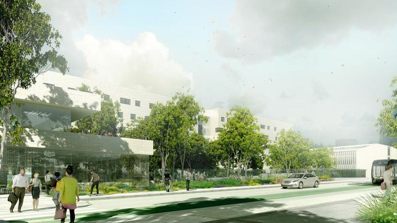 Voici quoi va ressembler le futur campus condorcet - Porte de la chapelle five ...