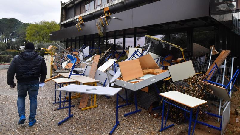 Le président demande en justice l'évacuation du campus — Université de Montpellier