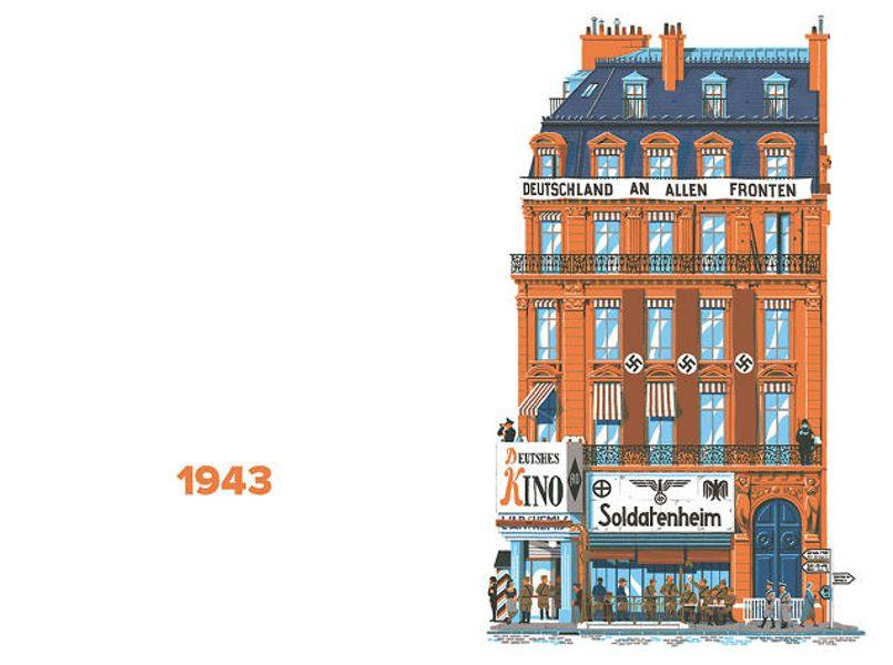 Architecture revivez 750 ans d histoire de paris en 60 for Architecture parisienne