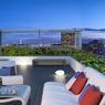 Un petit air de Manhattan souffle sur les terrasses privatives du dernier étage.