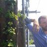 À l'origine du projet, Yohan Hubert, ingénieur agronome , qui a conçu ce toit végétal.
