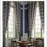 La chambre de Madeleine Castaing ravive l'esprit de la décoratrice. Les élégants fauteuils anglais d'époque Néoclassique sont également à vendre.