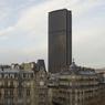 La Tour Montparnasse à Paris (15e) a été construite en 1973. Elle est encore aujourd'hui le monument le haut de la capitale (210 mètres de hauteur).