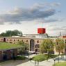 En septembre 2016 cinq amphithéâtres, une bibliothèque, mais aussi une cafeteria et des commerces seront mis à disposition de 4.000 étudiants d'Amiens dans un mélange prometteur d'architecture militaire et contemporaine imaginé par Renzo Piano.