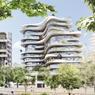 En 2018, cet immeuble d'habitation conçu par le cabinet chinois Studio MAD sera achevé dans le quartier parisien de Clichy-Batignolles.