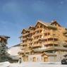 ... Après, changement d'ambiance, avec un toit à deux pentes et du bois en façades, les immeubles sont devenus plus chaleureux.