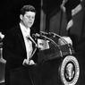 Le président américain John F. Kennedy s'adresse aux associations des éditeurs de presse, 27 avril 1961 à l'hôtel.