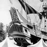 Le bateau de Pirates des Caraibes en 1957.