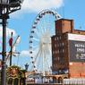 À Gdansk (Pologne), une grande roue installée à l'été 2016.