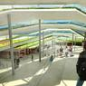 Les étudiants ont l'impression d'évoluer directement dans la nature tant les espaces sont larges.