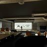 <b>APRÈS. </b>Une grande salle capable de recevoir séminaires, conférences et même des concerts. <b/>
