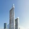 La tour la plus haute s'élèvera jusqu'à 244 mètres contre 174 mètres pour l'aile plus basse.