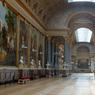 La Galerie des batailles, lieu où sont illustrées les principales batailles qui ont fait la France, a été voulue par Louis-Philippe comme le point central des Galeries historiques de Versailles.