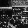 Le président du conseil et ministre de la Guerre Georges Clémenceau s'exprime à la tribune de la Chambre des Députés le 30 juin 1919