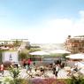 De nombreux espaces de détente seront accessibles, comme ici sur les toits du village.