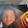 Ambiance street art avec cette fresque géante.