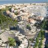 Situé à l'entrée de la station balnéaire, le nouveau programme immobilier assure la jonction vers le port.