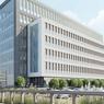 Le nouveau siège de PSA à Rueil-Malmaison, dessiné par Jean-MIchel Wilmotte (vue d'artiste).