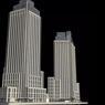 Le projet d'immeubles locatifs qui doit remplacer l'usine désaffectée.