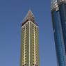 La tour Ahmed Abdul Rahim al Attar (342 mètres), encore et toujours à Dubaï.