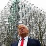 Une statue en cire de Donald Trump issue du musée Madame Tussaud a été installée à proximité de la nouvelle ambassade américaine de Londres.