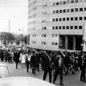 Manifestation étudiante le 9 juin 1968, en soutien aux grévistes de la Maison de la Radio.