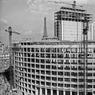 Construction de la Maison de la Radio, le 29 septembre 1960.
