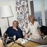 Le couple présidentiel à Brégançon, le 12 août 1970.