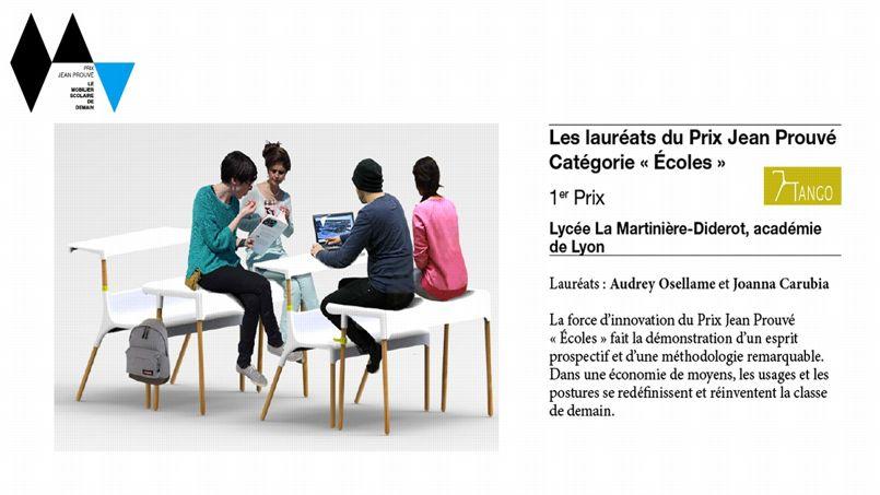 les chaises des écoliers réinventées par des designers - le figaro ... - Chaise Jean Prouve Prix