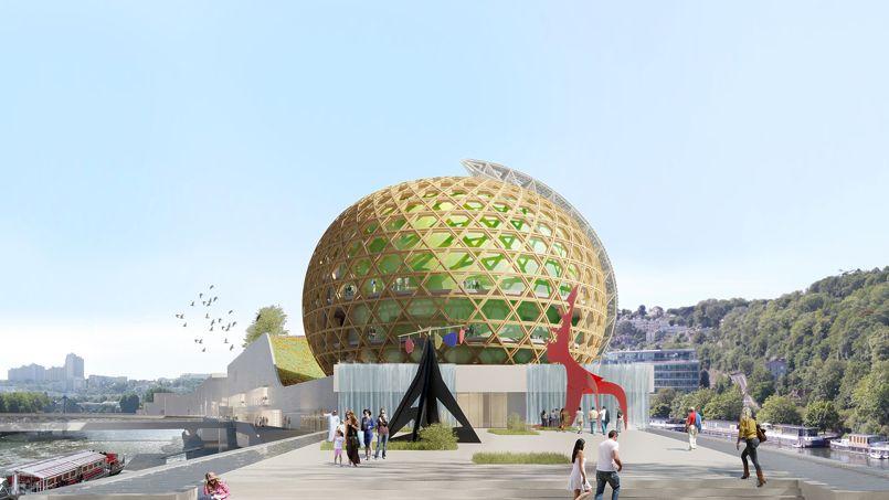 Crédit: Shigeru Ban Architects Europe-Jean de Gastines Architectes