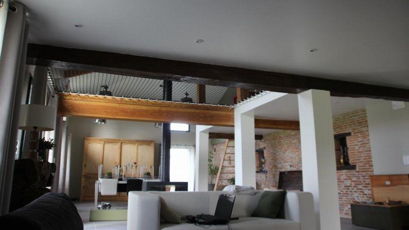 Filet habitation espace vie accueil design et mobilier - Filet de catamaran pour mezzanine ...