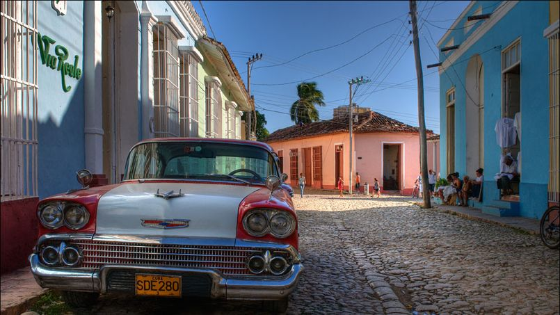 Depuis 2011, les Cubains peuvent acheter et vendre de l'immobilier mais il n'existe quasiment pas d'agences dans l'île. Crédit: Romtomtom/Flickr