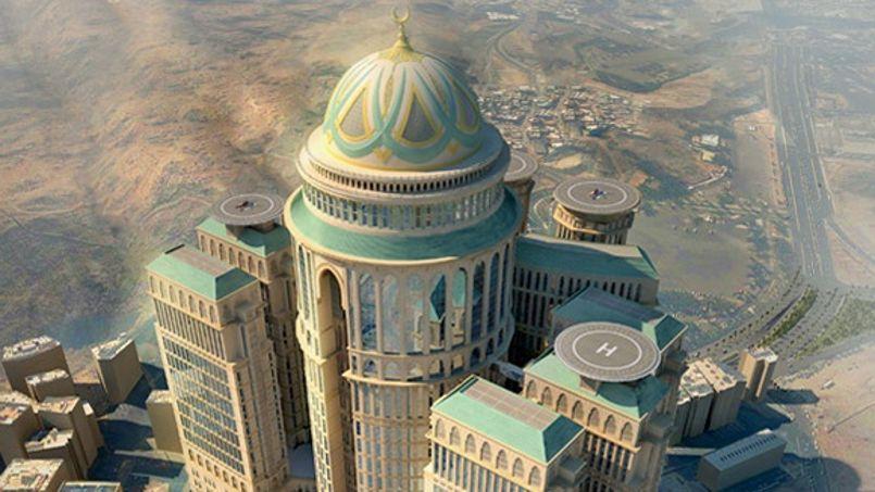 Le plus grand h tel du monde va ouvrir la mecque - Les hotels de la mecque ...