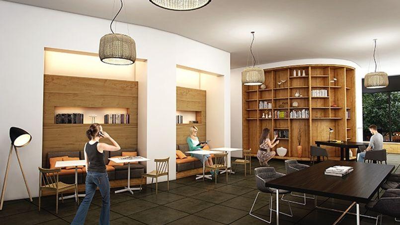 NextDoor, centre de coworking de Bouygues Immobilier. Crédit: Bouygues Immobilier.