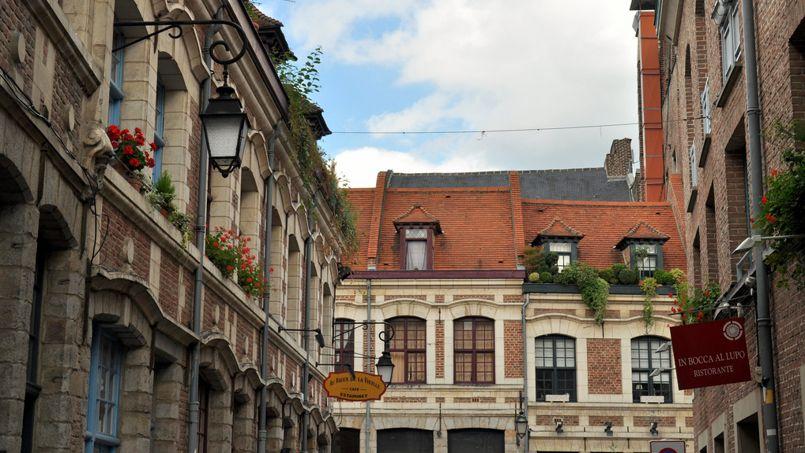 Une rue du vieux Lille. Crédit: Flickr @ Frédérique Voisin-Demery.