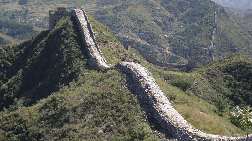 Les chinois d mant lent la grande muraille pour construire leurs maisons - Maison de la chine boutique ...