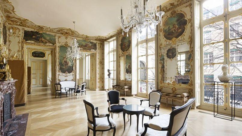 paris l h tel de la salle a t vendu un peu plus de 30 millions d euros. Black Bedroom Furniture Sets. Home Design Ideas