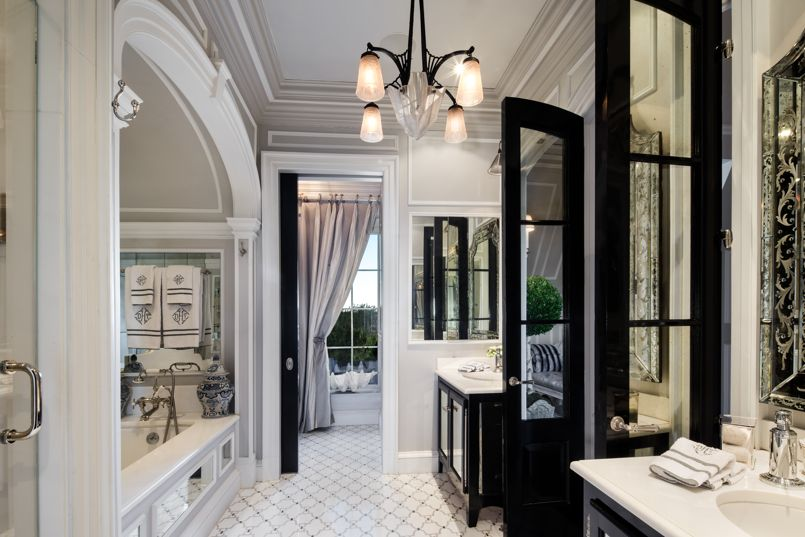 Visitez le penthouse de tommy hilfiger le luxe l tat pur for Salle de bain hotel de luxe