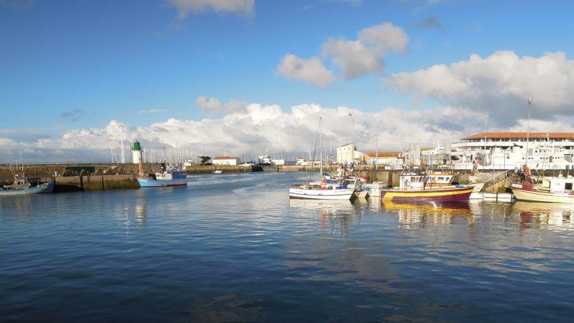 Le port de Joinville de l'île d'Yeu. Crédits photo: Peyot sous licence creative commons