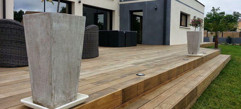 Voici comment vous allez r aliser la terrasse de vos r ves - Comment faire une terrasse en palette ...